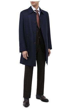 Мужские кожаные монки MAGNANNI серого цвета, арт. 22338/BR00KLYN | Фото 2