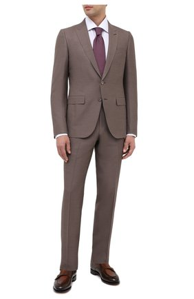 Мужские кожаные монки SANTONI коричневого цвета, арт. MCC016036MC3HNGCS53 | Фото 2