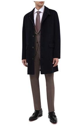 Мужские кожаные монки SANTONI черного цвета, арт. MCCR11652MC1HVVDN01 | Фото 2