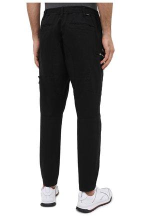 Мужские брюки-карго из хлопка и шерсти STONE ISLAND SHADOW PROJECT черного цвета, арт. 731930508 | Фото 4