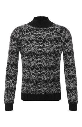 Мужской свитер SAINT LAURENT черно-белого цвета, арт. 632007/YARW2 | Фото 1