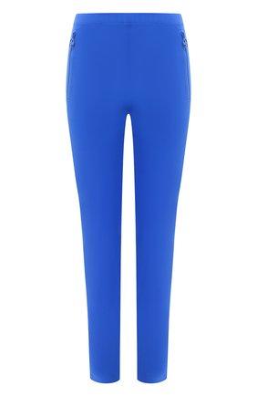 Женские леггинсы EMILIO PUCCI синего цвета, арт. 0RRT36/0R624 | Фото 1