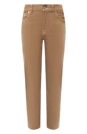 Женские брюки 7 FOR ALL MANKIND бежевого цвета, арт. JSVYV640SA | Фото 1