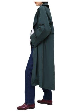 Женская кожаные монки SANTONI бордового цвета, арт. WUGY56649BA1NLVVB70   Фото 2