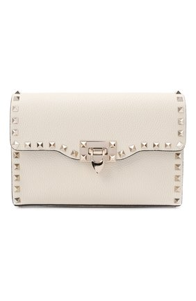 Женская сумка valentino garavani rockstud VALENTINO белого цвета, арт. UW2B0181/VSF | Фото 1