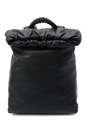 Женский рюкзак pouch BOTTEGA VENETA черного цвета, арт. 629858/VA9V2 | Фото 1