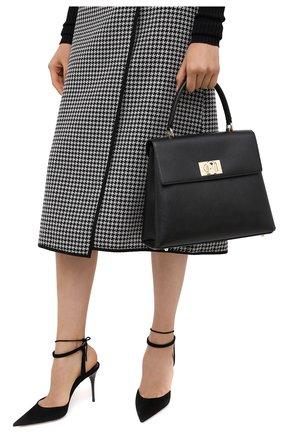 Женская сумка furla 1927 FURLA черного цвета, арт. BARPACO/ARE000 | Фото 2