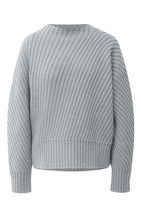 Женская шерстяной свитер JIL SANDER серого цвета, арт. JSPR752050-WRY20008 | Фото 1