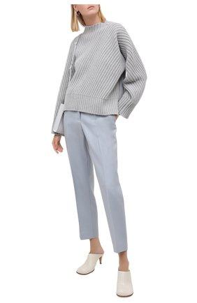 Женская шерстяной свитер JIL SANDER серого цвета, арт. JSPR752050-WRY20008 | Фото 2