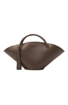 Женский сумка sombrero JIL SANDER серого цвета, арт. JSPR851428-WRB69139V | Фото 1