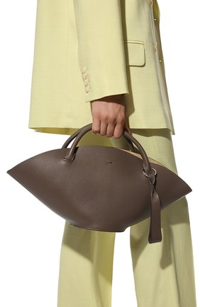 Женская сумка sombrero JIL SANDER коричневого цвета, арт. JSPR851428-WRB69139V | Фото 2