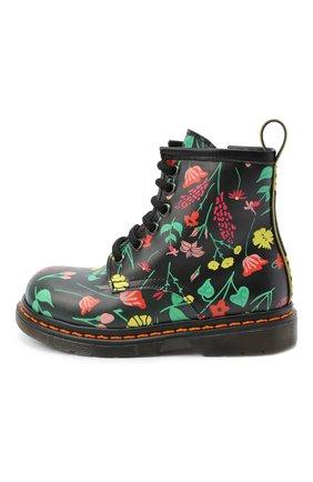 Детские кожаные ботинки GALLUCCI черного цвета, арт. J30067AM/TR P V G0M VFW | Фото 2