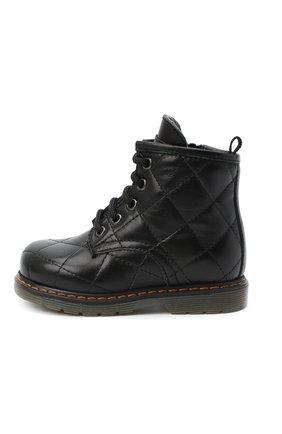 Детские кожаные ботинки GALLUCCI черного цвета, арт. T30016AM/TR P L G0M N0P | Фото 2