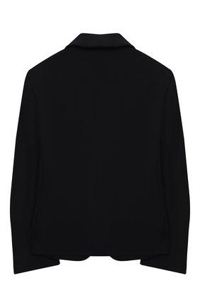 Детский пиджак DAL LAGO черного цвета, арт. N035/8111/7-12 | Фото 2