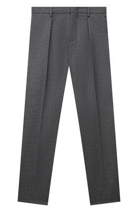 Детские шерстяные брюки LORO PIANA серого цвета, арт. FAL2703 | Фото 1