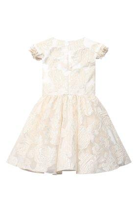 Детское платье DAVID CHARLES золотого цвета, арт. 5117 | Фото 2