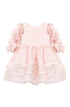 Детское платье DAVID CHARLES розового цвета, арт. 911 | Фото 1