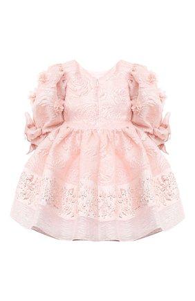 Детское платье DAVID CHARLES розового цвета, арт. 911 | Фото 2