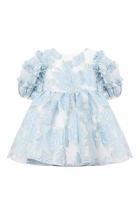Детское платье DAVID CHARLES голубого цвета, арт. 913 | Фото 1