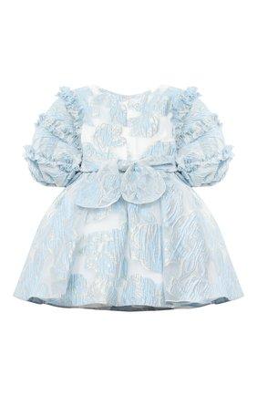 Детское платье DAVID CHARLES голубого цвета, арт. 913 | Фото 2