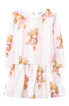 Женский платье MONNALISA розового цвета, арт. 316902 | Фото 1