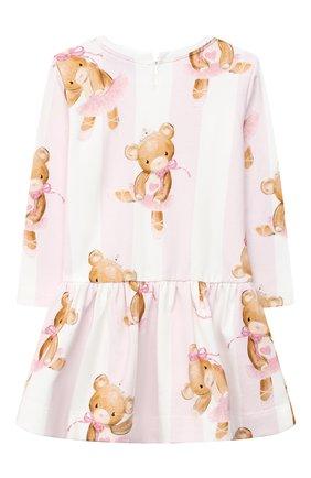 Женский платье MONNALISA розового цвета, арт. 316902 | Фото 2