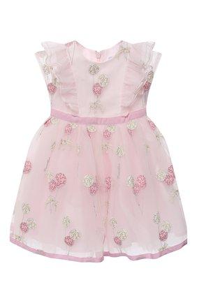 Женский платье MONNALISA розового цвета, арт. 316907 | Фото 1