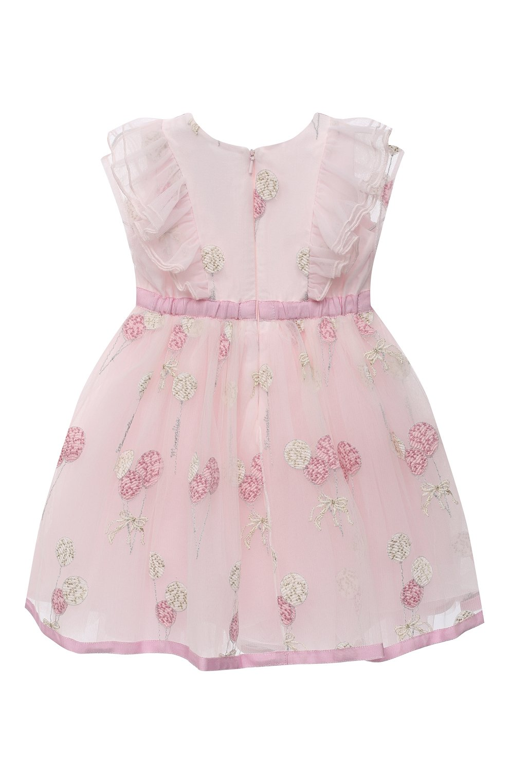 Женский платье MONNALISA розового цвета, арт. 316907 | Фото 2