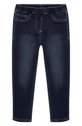Детские джинсы MONNALISA голубого цвета, арт. 176400R1 | Фото 1