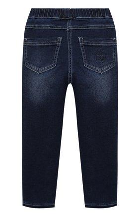 Детские джинсы MONNALISA голубого цвета, арт. 176400R1 | Фото 2