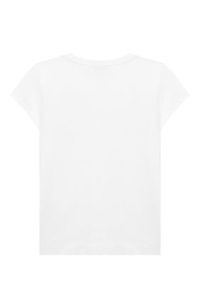 Детская футболка MONNALISA синего цвета, арт. 116600S6 | Фото 2