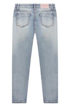 Детские джинсы MONNALISA синего цвета, арт. 796400AA   Фото 2