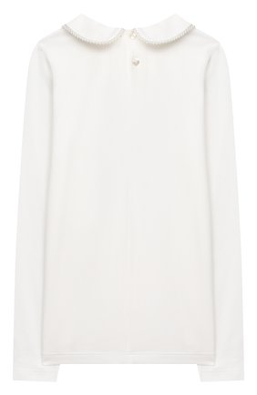 Детское блузка ALETTA бежевого цвета, арт. AJ000468ML/4A-8A | Фото 2