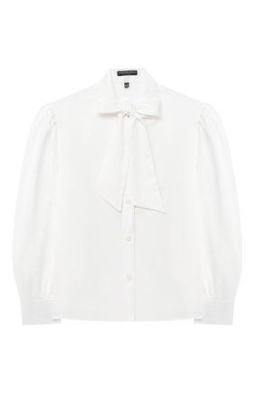 Детское блузка ALESSANDRO BORELLI MILANO бежевого цвета, арт. S2012-20л | Фото 1