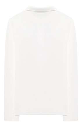 Детское хлопковая блузка ALESSANDRO BORELLI MILANO бежевого цвета, арт. J20169-20л | Фото 2