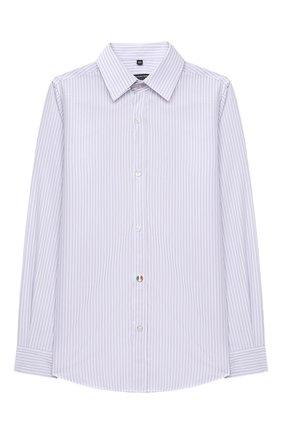 Детская хлопковая рубашка ALESSANDRO BORELLI MILANO разноцветного цвета, арт. U2042B-20л | Фото 1