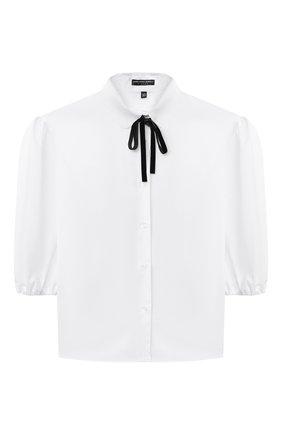 Детское блузка ALESSANDRO BORELLI MILANO белого цвета, арт. S2009-20л | Фото 1