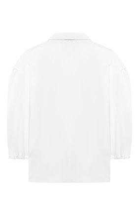 Детское блузка ALESSANDRO BORELLI MILANO белого цвета, арт. S2009-20л | Фото 2