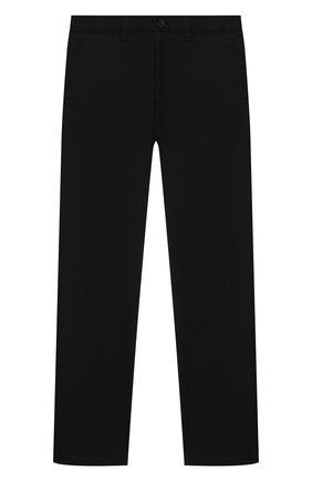 Детские брюки ALESSANDRO BORELLI MILANO черного цвета, арт. pant20210U-20л | Фото 1