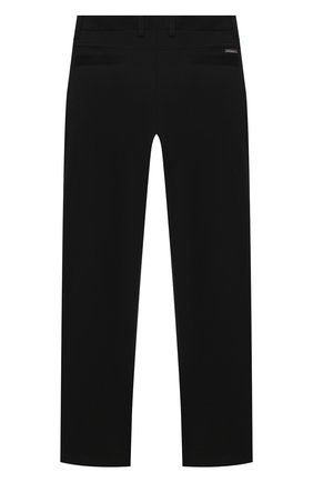 Детские брюки ALESSANDRO BORELLI MILANO черного цвета, арт. pant20210U-20л | Фото 2