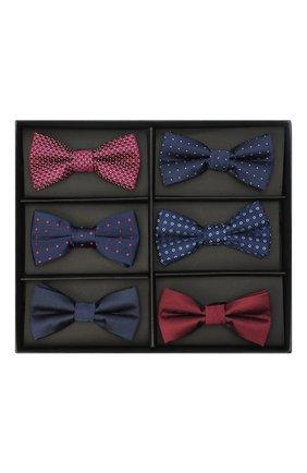 Детский набор галстуков-бабочек ALESSANDRO BORELLI MILANO разноцветного цвета, арт. BOW1-20л | Фото 1