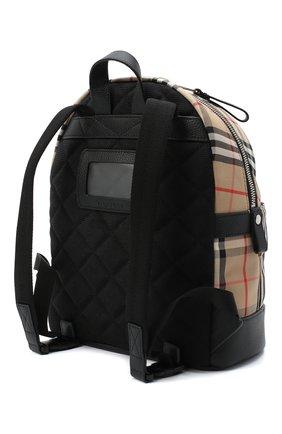 Детская рюкзак BURBERRY бежевого цвета, арт. 8031006 | Фото 2