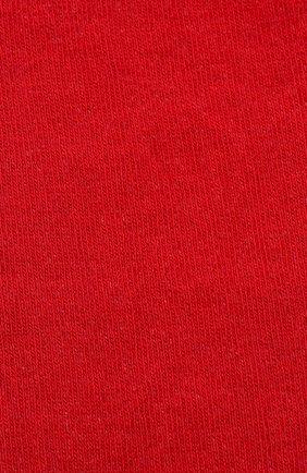 Детские хлопковые носки DOLCE & GABBANA красного цвета, арт. LBKA43/JACID | Фото 2