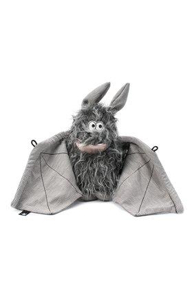Детского игрушка летучая мышь SIGIKID серого цвета, арт. 39152 | Фото 1 (Материал: Текстиль)