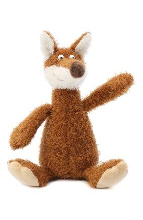 Детского игрушка лиса SIGIKID коричневого цвета, арт. 38876 | Фото 1
