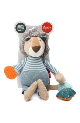 Детского игрушка львенок SIGIKID голубого цвета, арт. 42155 | Фото 1
