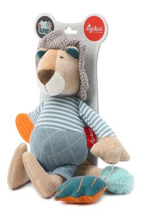 Детского игрушка львенок SIGIKID голубого цвета, арт. 42155 | Фото 2