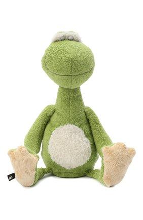 Детского игрушка лягушка SIGIKID зеленого цвета, арт. 38923 | Фото 1