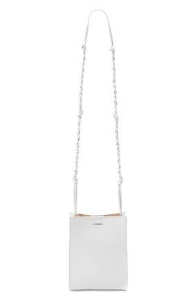 Женская сумка tangle JIL SANDER серого цвета, арт. JSPR853173-WRB69146N | Фото 1