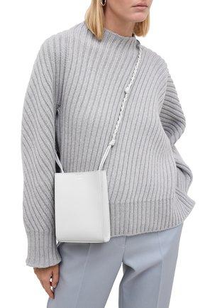 Женская сумка tangle JIL SANDER серого цвета, арт. JSPR853173-WRB69146N | Фото 2